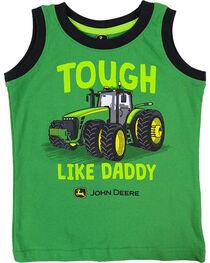 "John Deere Toddler Boys' ""Tough Like Daddy"" Tank Top , , hi-res"