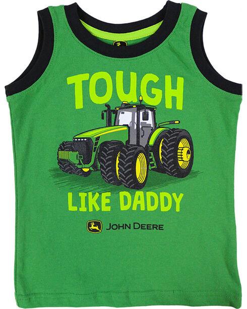 "John Deere Toddler Boys' ""Tough Like Daddy"" Tank Top , Green, hi-res"