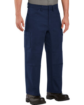 Red Kap Men's Navy Performance Shop Pants , Navy, hi-res