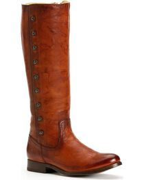 Frye Women's Melissa Military Riding Boots - Round Toe, , hi-res