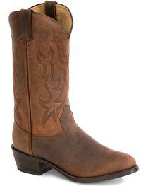 """Durango Men's 12"""" Western Cowboys Boots, , hi-res"""