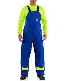 Carhartt Men's Flame Resistant Duck Bib Overalls, , hi-res