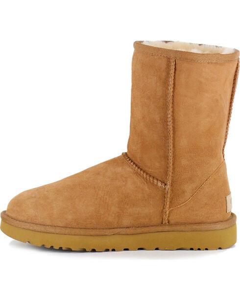 UGG® Women's Water Resistant Classic II Short Boots, Chestnut, hi-res