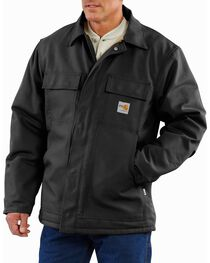 Carhartt Men's Flame-Resistant Duck Traditional Jacket, , hi-res