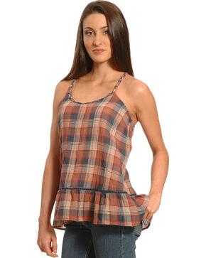 Others Follow Women's Traveled Roads Dress Blues Top, Plum, hi-res