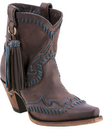 Lane Women's Hoedown Snip Toe Booties, , hi-res