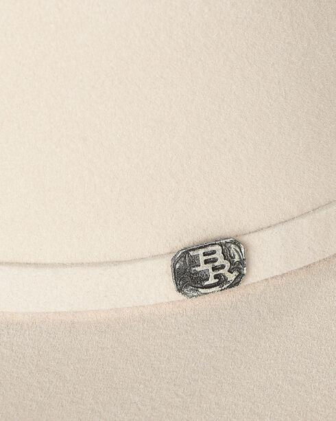 Justin Bent Rail Men's Ivory 25X The Boss Cowboy Hat, Ivory, hi-res