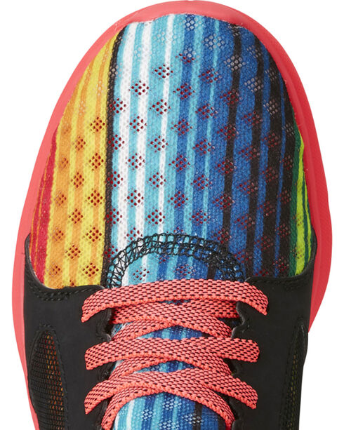 Ariat Kids' Fuse Rainbow Stripe Mesh Shoes , Multi, hi-res