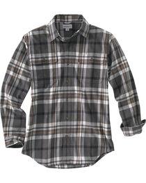 Carhartt Men's Hubbard Plaid Long Sleeve Shirt, , hi-res