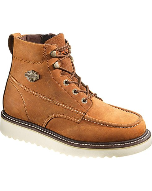 Harley-Davidson Men's Beau Casual Boots, Brown, hi-res