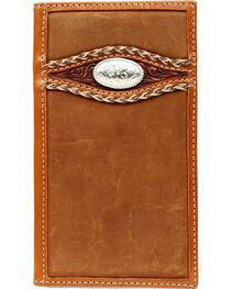 Ariat Men's Bi-fold Rodeo Embellished Wallet, , hi-res