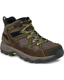 Red Wing Afton Steel Toe Hiker Work Boots, Brown, hi-res