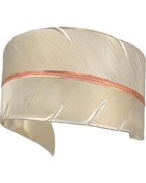 Montana Silversmiths Women's Feather Cuff Bracelet, , hi-res