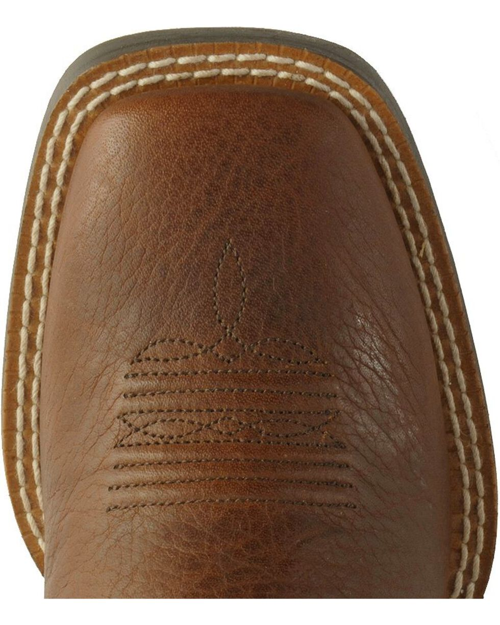 "Ariat Youth Crossfire 8"" Western Boots, Brown, hi-res"