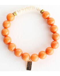 Everlasting Joy Jewelry Women's Tangerine Coconut Bracelet , , hi-res