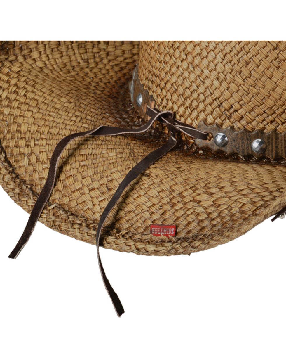 Bullhide Women's Western Inspiration Straw Hat, Multi, hi-res