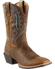 Ariat Men's Sport Outfitted Western Boots, , hi-res