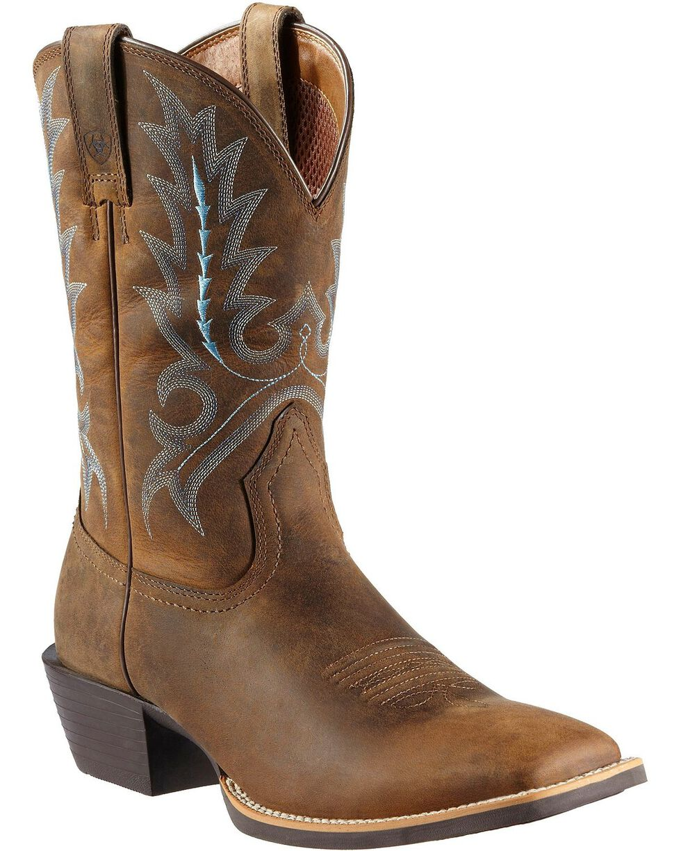 Ariat Men's Sport Outfitted Western Boots | Tuggl