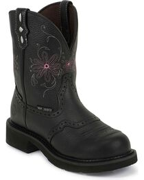 Justin Gypsy Women's Pebbled Steel Toe Work Boots, , hi-res