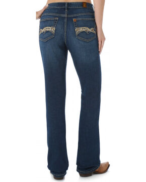 Aura by Wrangler Women's Instantly Slimming Jeans, Denim, hi-res