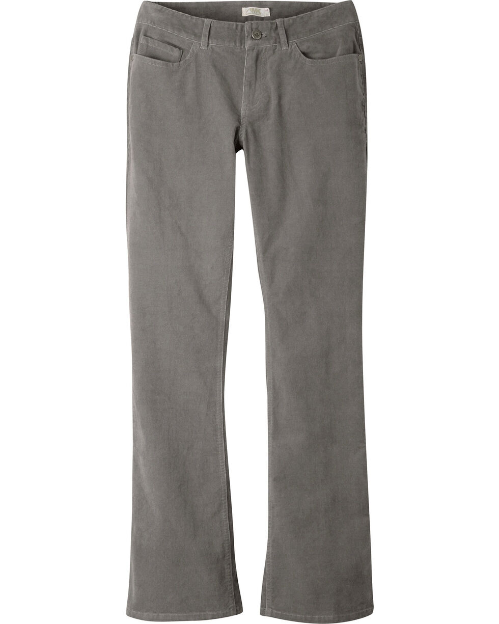 Mountain Khakis Women's Canyon Cord Slim Fit Pants - Petite, Dark Grey, hi-res