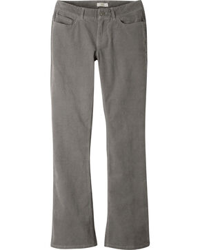 Mountain Khakis Women's Canyon Cord Slim Fit Pants, Dark Grey, hi-res