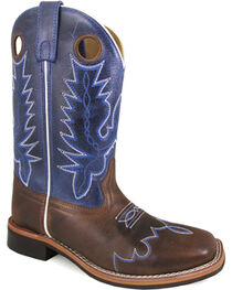 Smoky Mountain Women's Delta Western Boots - Square Toe , , hi-res