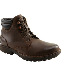 Eastland Men's Brown Jeremiah Boots , , hi-res