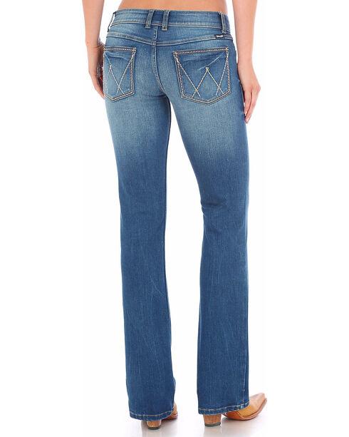 Wrangler Women's Light Indigo Retro Sadie Low Rise Jeans - Boot Cut , Indigo, hi-res