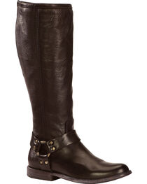 Frye Women's Phillip Harness Riding Boots - Extended Calf, , hi-res