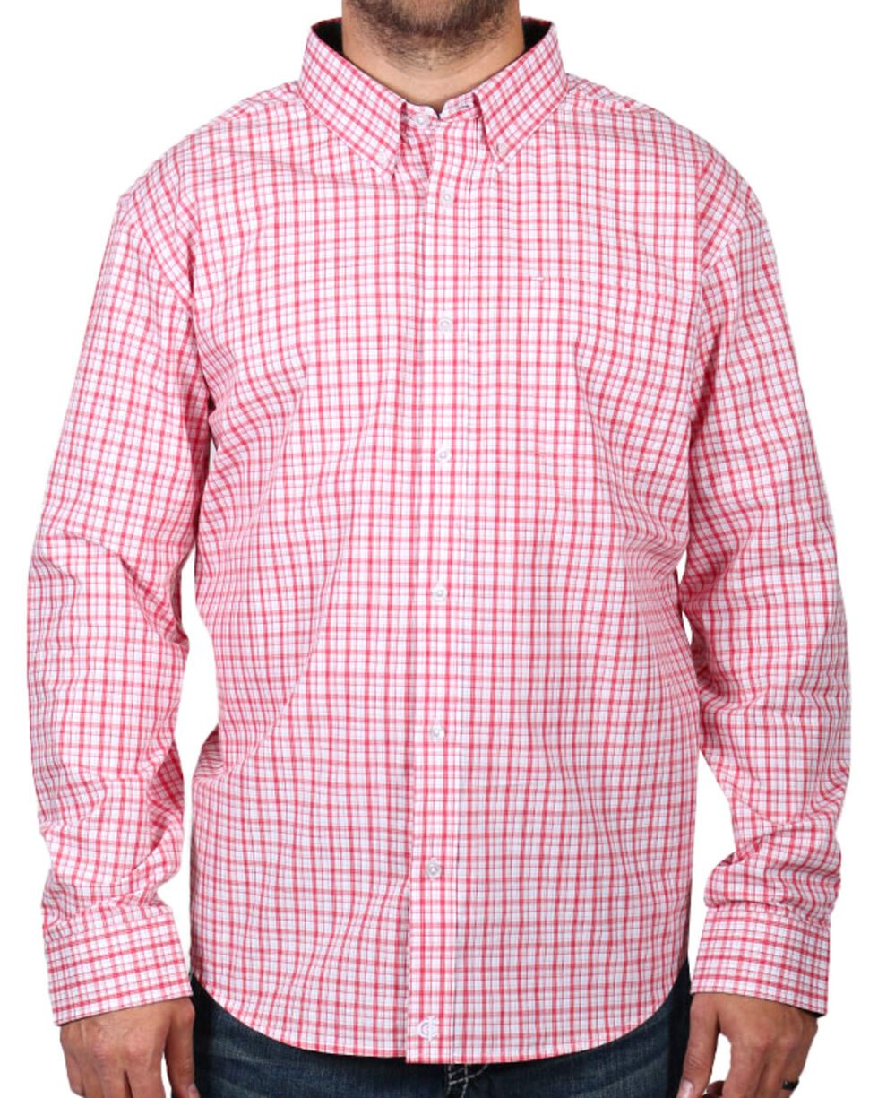 Cody James Men's Check Patterned Long Sleeve Shirt, , hi-res