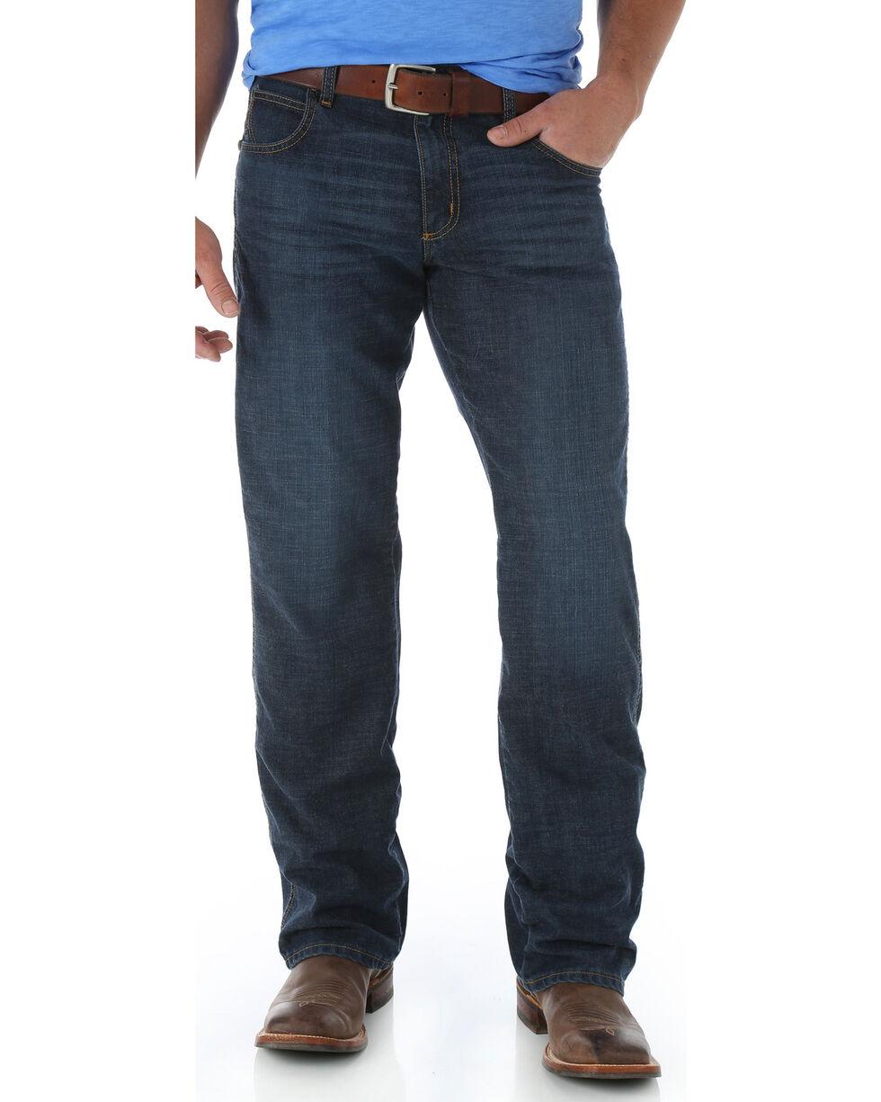 Wrangler Retro Men's Relaxed Fit Boot Cut Jeans, Denim, hi-res