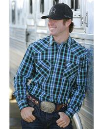 Cinch Men's Modern Fit Snap Western Shirt, , hi-res
