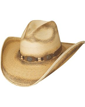 Bullhide Women's Moonlight Straw Hat, Natural, hi-res