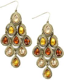 Shyanne® Women's Teardrop Chandelier Earrings, , hi-res