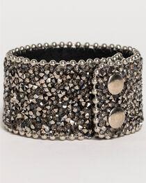 Shyanne® Women's Crystal Snap Cuff Bracelet, , hi-res