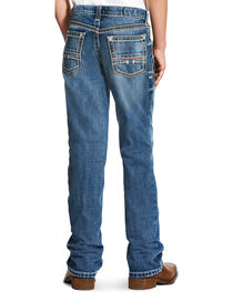 Ariat Boys' Indigo B4 Coltrane Durango Relaxed Jeans - Boot Cut , , hi-res