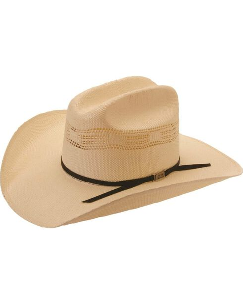 Silverado Bunk House Bangora Straw Cowboy Hat, Ivory, hi-res