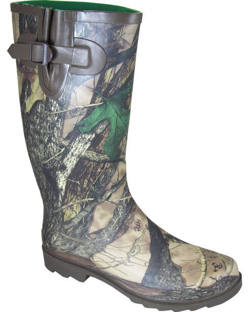 Smoky Mountain Women's True Timber Camo Waterproof Stalker Boots, Camouflage, hi-res