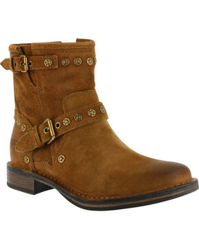 UGG® Women's Fabrizia Stud Fashion Boots, Chestnut, hi-res