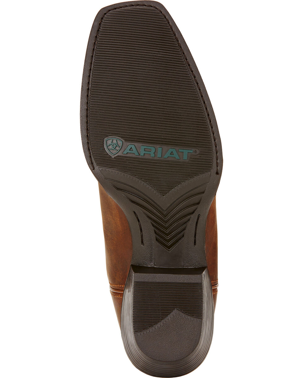 Ariat Men's Sport Square Toe Western Boots, Brown, hi-res