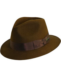 Indiana Jones Pinch Front Wool Felt Fedora Hat, , hi-res