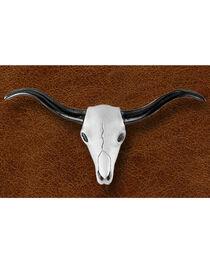 Kelly Herd Women's Sterling Silver Skull Necklace, , hi-res