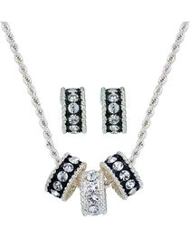Montana Silversmiths Women's Tri-Eternity Jewelry Set, , hi-res