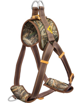 Browning Medium Camouflage Walking Dog Harness, Camouflage, hi-res