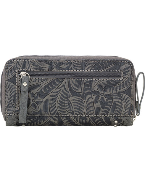 Bandana by American West Women's Trinity Trail Zip Around Wallet, , hi-res