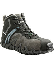 Terra Men's Black Venom Mid Work Shoes - Composite Toe, , hi-res