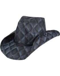Peter Grimm Arlie Checkered Straw Hat, , hi-res
