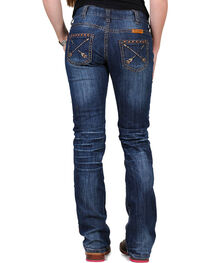 Cowgirl Tuff Women's Natural Patchmaker Jeans , , hi-res