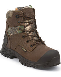 Justin Men's Weatherization Work Boots, , hi-res
